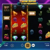 twin spin megaways slot game