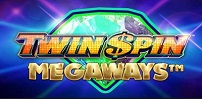 twin spin megaways slot logo