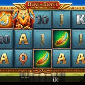 beat the beast griffins gold slot game