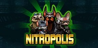 nitropolis slot logo