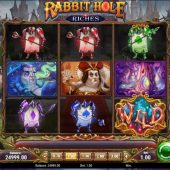 rabbit hole riches slot game