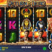 return of the dead slot game