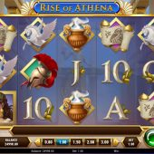 rise of athena slot game