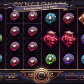 syncronite splitz slot game