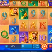 legend of cleopatra megaways slot game