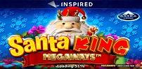 Cover art for Santa King Megaways slot