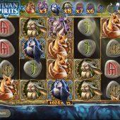 sylvan spirits slot game