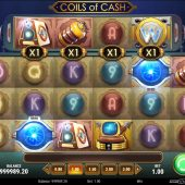 coils of cash slot game