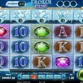 frozen gems slot game