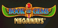 Cover art for Book of Gems Megaways slot