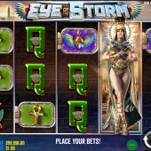 eye of the storm slot game
