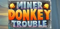 Cover art for Miner Donkey Trouble slot