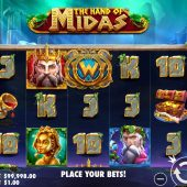 the hand of midas slot game
