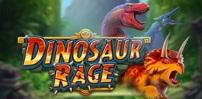 Cover art for Dinosaur Rage slot