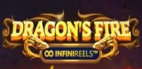 Cover art for Dragon's Fire Infinireels slot