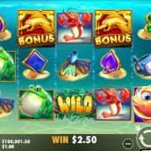 fishin reels slot game