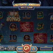 labyrinth of knossos slot game