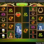 rainbow wilds megaways slot game