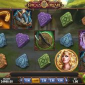 the faces of freya slot game