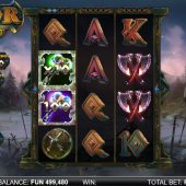 thor infinity reels slot game