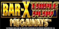Cover art for Bar-X Triple Play Megaways slot