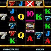 bar x triple play slot game