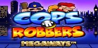 Cover art for Cops 'n' Robbers Megaways slot