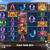 the power of thor megaways slot game