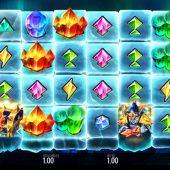crystal quest frostlands slot game