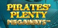 Cover art for Pirates' Plenty Megaways slot
