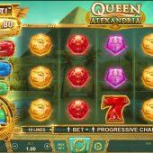 queen of alexandria wowpot slot game