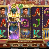 rich wilde amulet of dead slot game