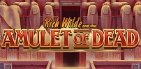 Cover art for Rich Wilde and The Amulet of Dead slot