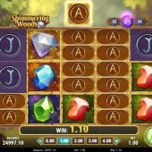 the shimmering woods slot game