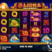 5 lions megaways slot game