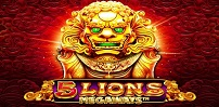 Cover art for 5 Lions Megaways slot
