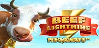 Cover art for Beef Lightning Megaways slot