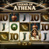 legend of athena slot game