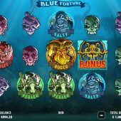 blue fortune slot game