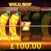 wild hot chilli reels slot game