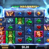 alive! megaways slot game