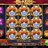 blazin' bullfrog slot game