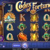 codex of fortune slot game