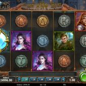 diamonds of the realm slot game
