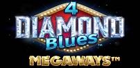 Cover art for 4 Diamond Blues Megaways slot