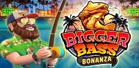 Cover art for Bigger Bass Bonanza slot