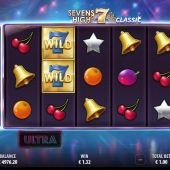 sevens high ultra slot game