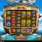 pirate pays megaways slot game