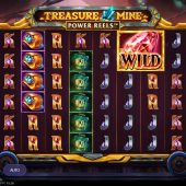 treasure mine power reels slot game