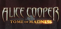 Cover art for Alice Cooper Tome of Madness slot